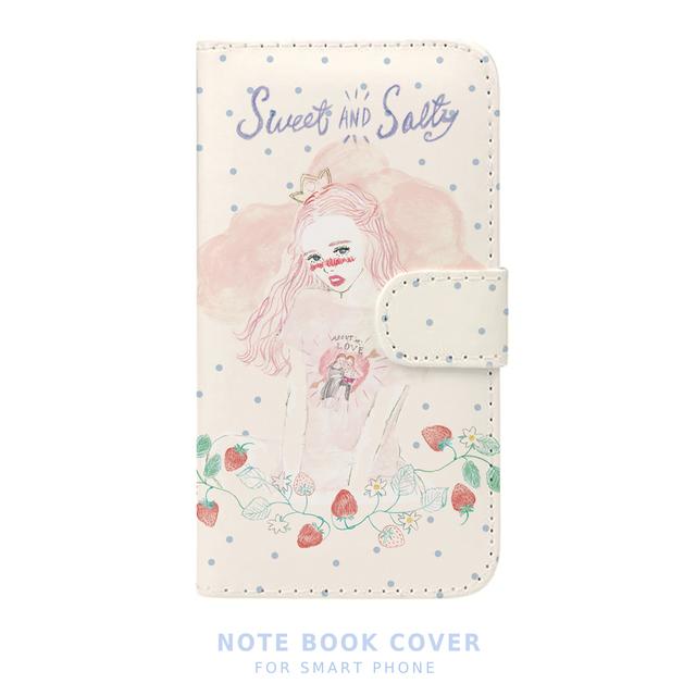 NEW!手帳型スマートフォン ケース sweet & salty