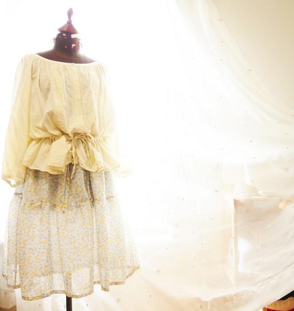 【SAIL】夏色水のロングスカート【¥4,900→¥3,200】
