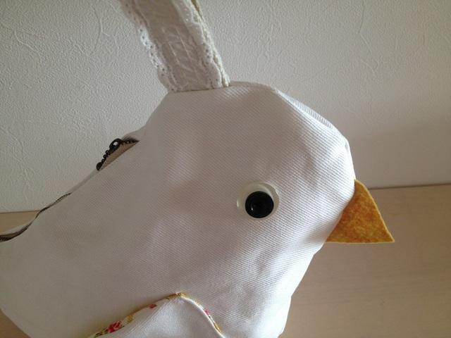 文鳥さんのバッグ