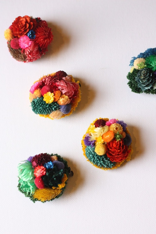 ��botanical brooch pin maru��