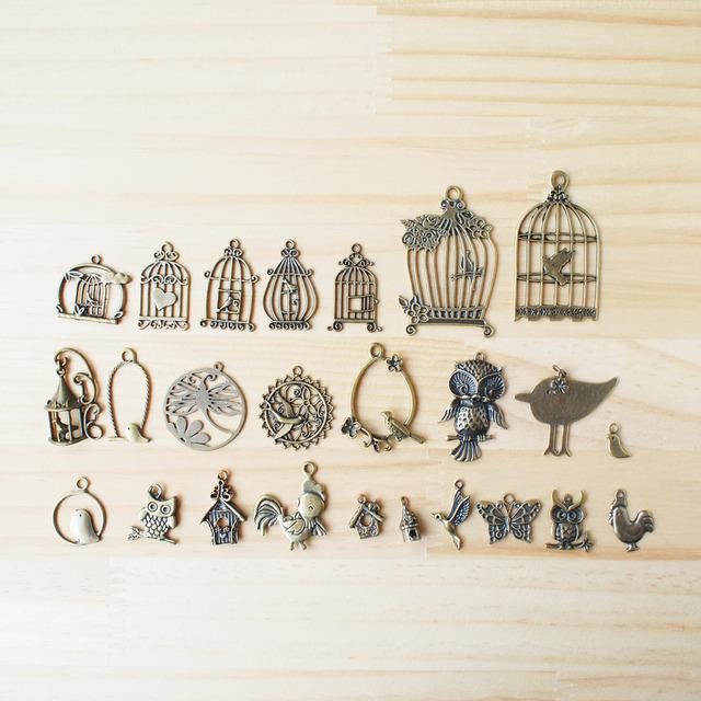 Vintage Charm Bird Cage/ �ӥ�ơ������㡼�ࡢĻ���� B-1