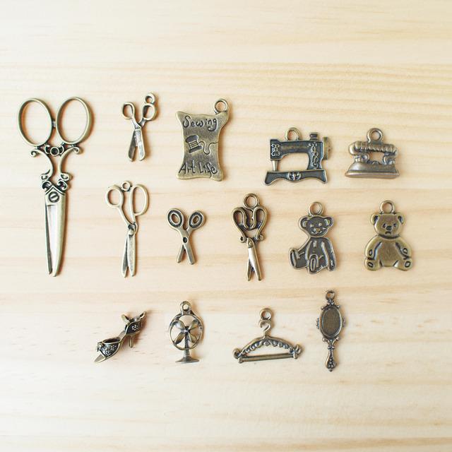 Vintage Charm Sewing set/ ビンテージチャーム、ソーイングセット S-1