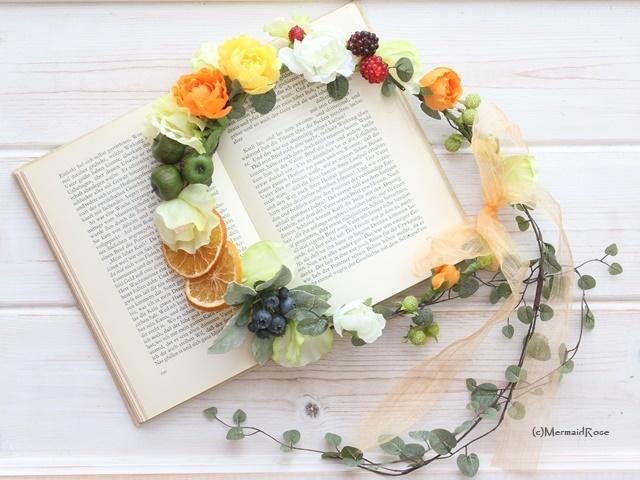 【romashka様専用】花冠*フルーツ花冠3個セット