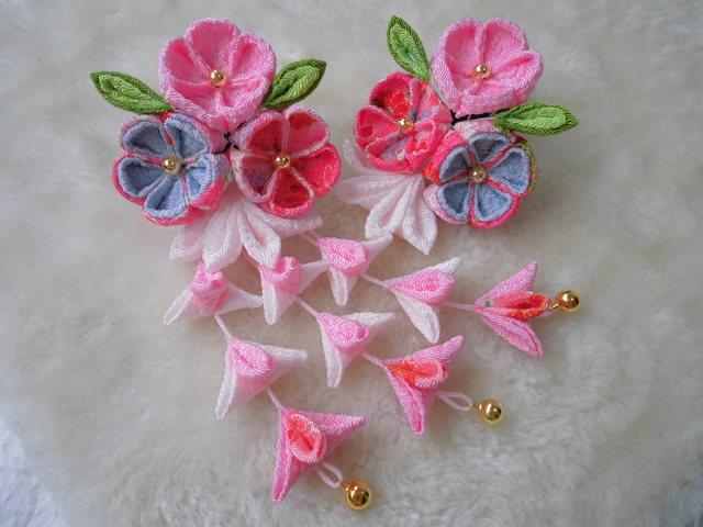 初音~hatune~(桜)子供用和装飾り