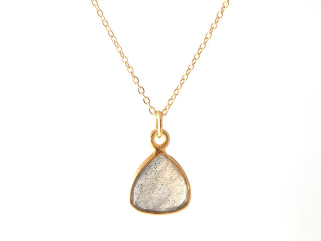 14KGF Labradorite Frame Necklace