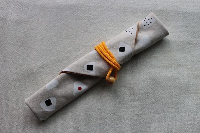 【再販】my箸ケース(おむすび柄)