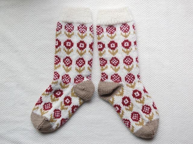 【cno1さまリクエスト品】手編みの靴下