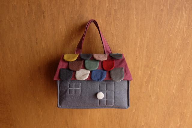 OUCHI box bag S ���   ���졼��mix����