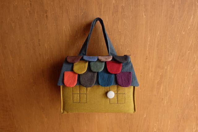 OUCHI box bag S ���   �ޥ������ɡ�mix����