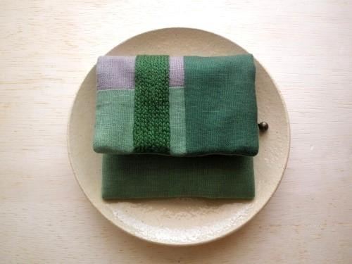 itoiro mini purse pouch (green)