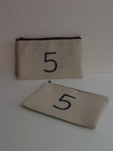 5番のポーチ(large/ch №5) *送料...
