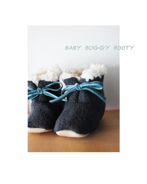 baby booty ウールブラック
