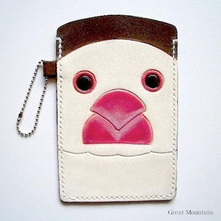 白文鳥 スマホケース カバー 携帯 革 文鳥 スマホ 鳥 ポーチ