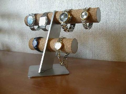 6本掛け腕時計スタンド スタンダード