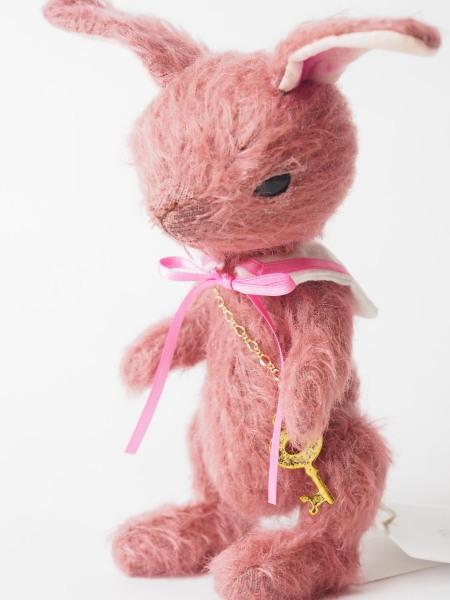 16cm鍵うさぎ(ピンク)