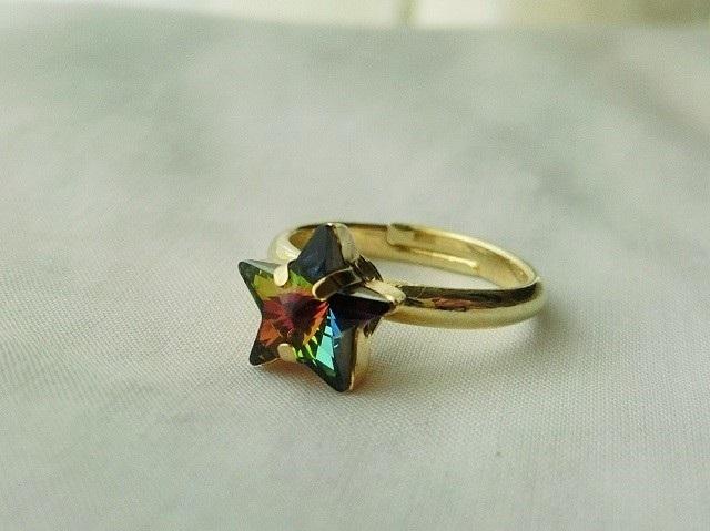 虹星の光のリング