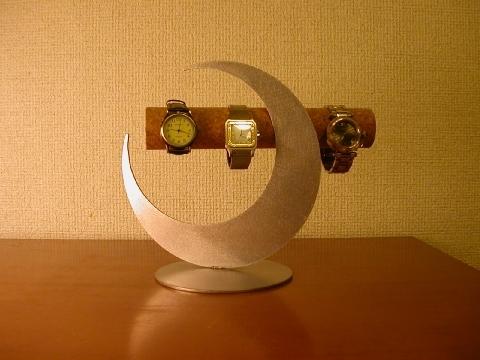 彼女へのプレゼントに!三日月ムーン腕時計スタンド