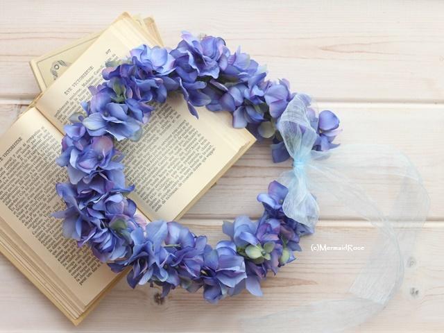 花冠ボリュームアジサイM(18.BLUE )