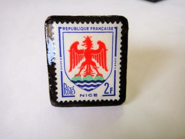 フランス  切手リング1426