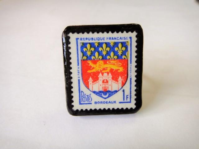 フランス  切手リング1427