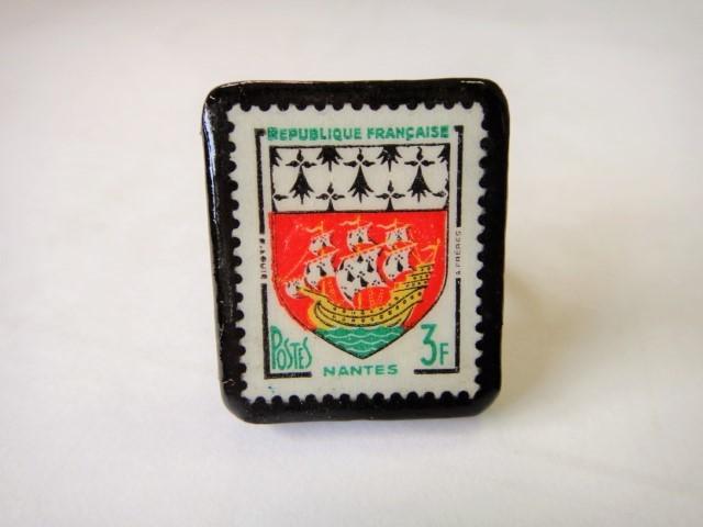 フランス  切手リング1428
