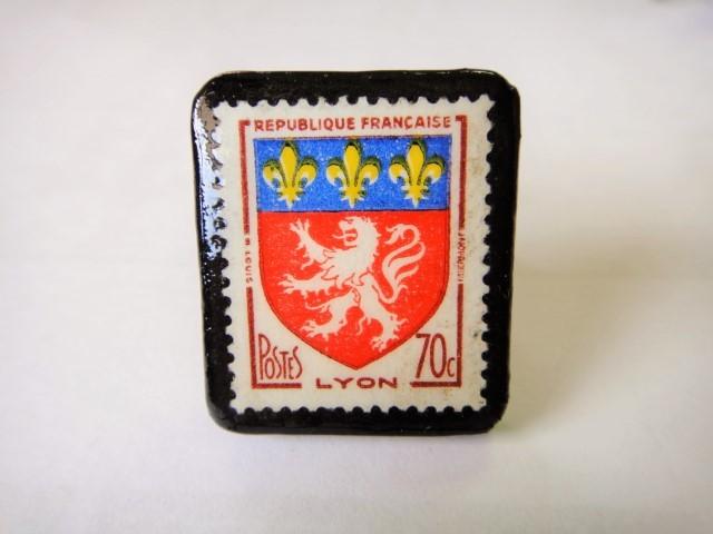 フランス  切手リング1429