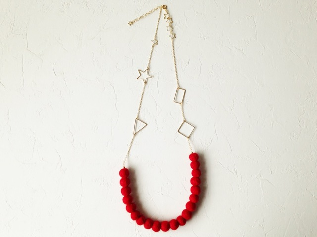 Hello Evening necklace (NO.854)