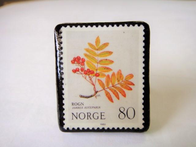 ノルウェー  切手リング1432