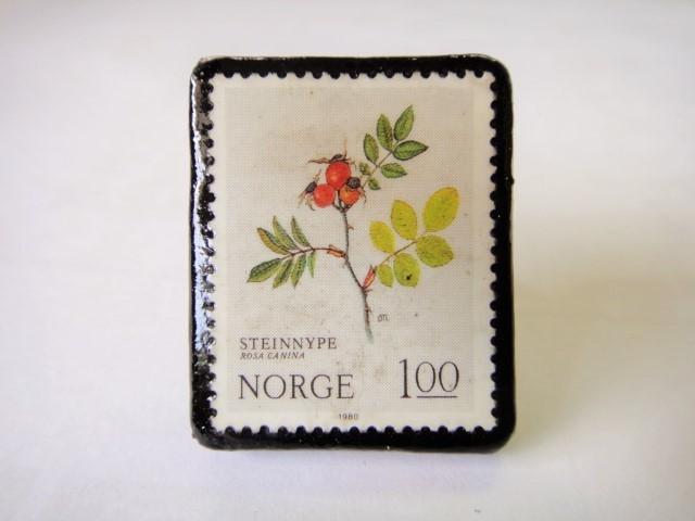 ノルウェー  切手リング1433