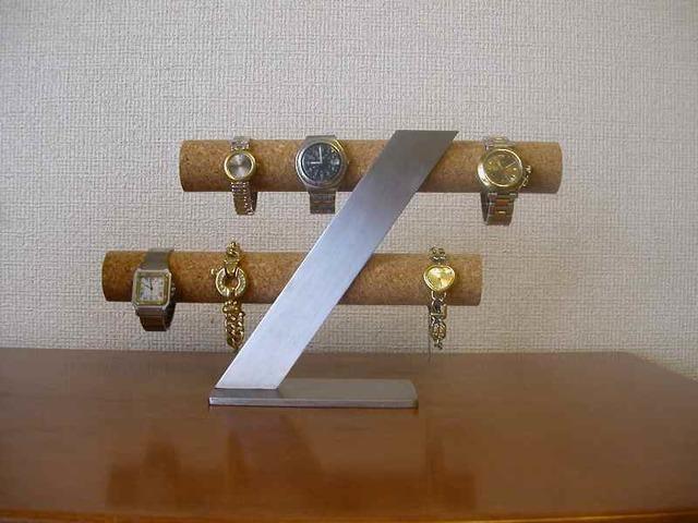 彼氏へのプレゼントに!スタンダード8本掛け腕時計スタンド
