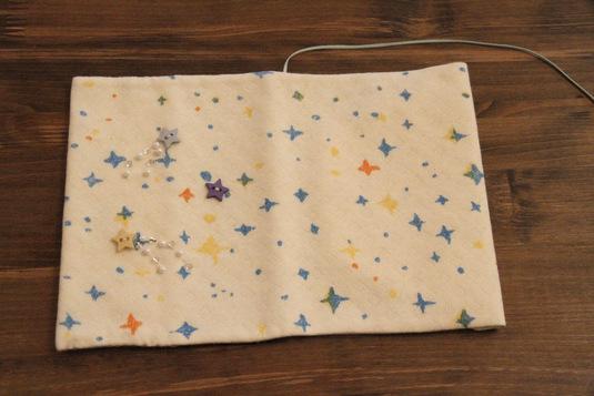 流れ星のブックカバー