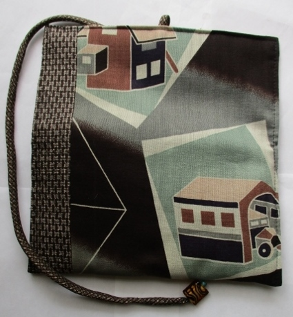 着物リメイク 長襦袢で作った和風財布 1779