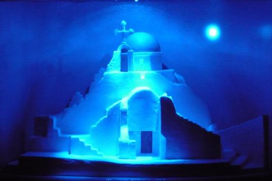 ミコノスの教会 パナギア パラポルティ...