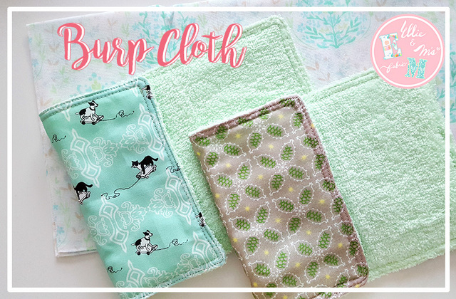 Baby タオル (Burp-Cloth) 3枚セット
