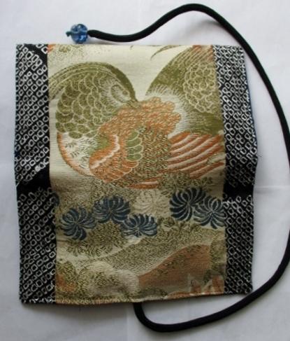 着物リメイク 帯で作った和風財布 1781