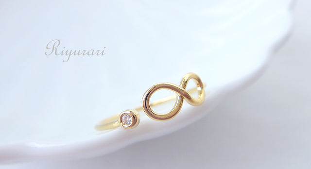 【OUTLET】 Infinity-cz Ring