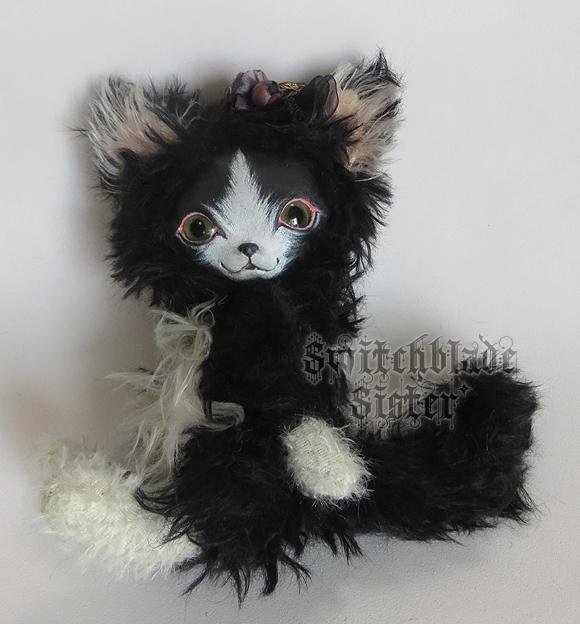 フェイスタイプドール*白黒猫(チワニャ...