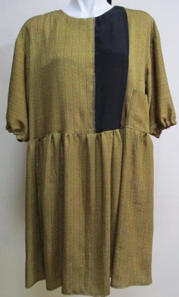 着物リメイク 着物で作ったチュニックワンピース 1784