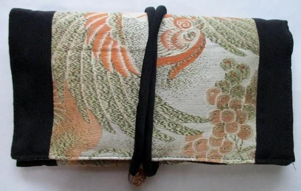 着物リメイク 帯で作った和風財布 1784