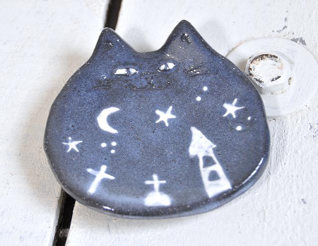 星猫の小皿 ハロウィン!