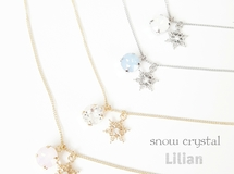 Snow Crystal‥Necklace*゜