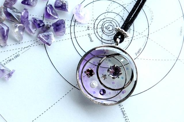 [ご依頼品]遊星譜・紫