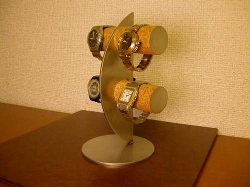 誕生日プレゼントに! 三日月ムーン腕時計スタンド!スタンダード ak-design