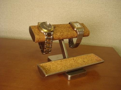 プレゼントに!腕時計収納! どっしり安定腕時計ケース風腕時計スタンド