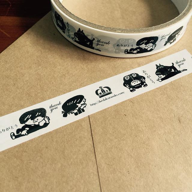オリジナルテープ ありがとうテープ