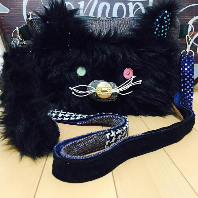 黒猫の2wyバッグ