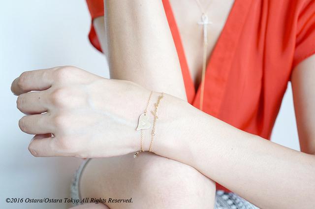 ��14KGF��14KGF Heart Bracelet