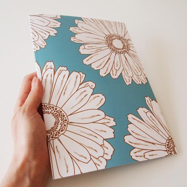 B5ノートブック(青緑)