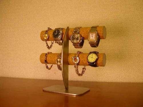 お祝いに!三日月支柱8本掛け腕時計収納スタンド スタンダード ak-design