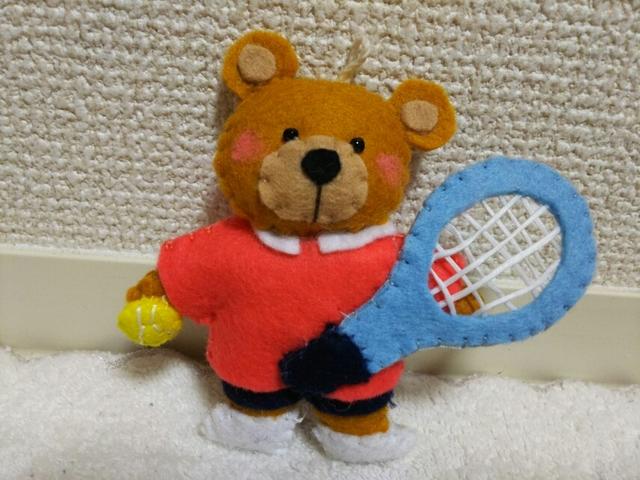 スポーツの秋のベアーちゃん(3)